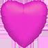 Heart Fuchsia